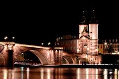 alte桥梁brucke德国海得尔堡 免版税图库摄影
