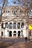 Alte行动在法兰克福 免版税库存照片