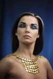 Alte ägyptische Frau lizenzfreie stockfotografie