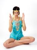 Alte ägyptische Frau - Kleopatra Lizenzfreies Stockfoto