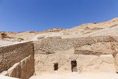 Alte ägyptische Gräber Lizenzfreie Stockbilder