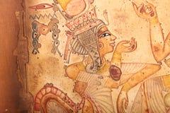 Alte ägyptische Königin stock abbildung