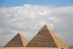 Alte ägyptische Pyramide Stockfoto