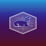 Alte ägyptische Sphinx Lizenzfreie Stockfotografie