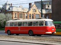 Alte öffentliche Transportmittel Lizenzfreie Stockfotografie