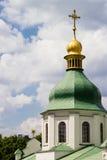 Alte östliche orthodoxe Kirche St. Sofiia in Kyiv lizenzfreie stockbilder