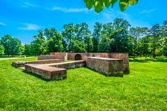 Alte Überreste in Cakovec, Kroatien Lizenzfreies Stockbild