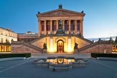 alte Βερολίνο nationalgalerie Στοκ Εικόνα