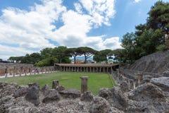 Alte ρωμαϊκό Πομπηία-Ruinen Στοκ Εικόνα