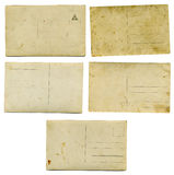 Alte 1900spostkarten Stockfotos