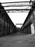 Alte abandones Fabrik Lizenzfreies Stockfoto