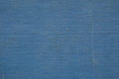 Alte Abdeckung der blauen Gewebe-Beschaffenheit Lizenzfreies Stockfoto