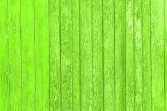 Alte abgezogene hölzerne Planken mit gebrochener Farbfarbe, alte Platten des Hintergrundes Lizenzfreies Stockbild