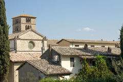 Alte Abtei von Farfa nahe Rom Lizenzfreie Stockfotos