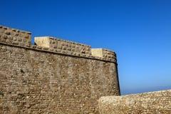Alte Acco-Stadtmauer Stockbild