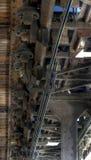 Alte Achterbahn Lizenzfreies Stockfoto