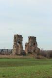 Alte Acqueduct-Ruinen Lizenzfreie Stockfotos