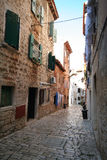 Alte adriatische Stadt 23 Lizenzfreies Stockbild