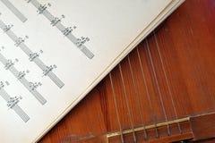 Alte Akustikgitarre Lizenzfreie Stockbilder