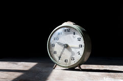 Alte Alarmuhr Stockbild