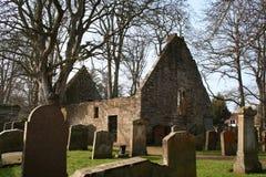 Alte alloway Kirche Stockfoto