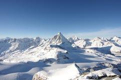 Alte alpi Fotografia Stock