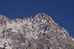 Alte alpi austriache di Tauern, paesaggio di inverno Immagini Stock Libere da Diritti