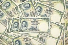 Alte alte Rechnungen von Thailand als Hintergrund Lizenzfreie Stockfotos
