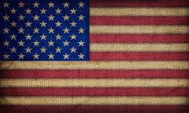 Alte amerikanische Flagge Lizenzfreies Stockfoto