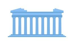 Alte Amphitheatervektorillustration lizenzfreie abbildung