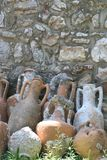 Alte Amphoras Lizenzfreies Stockbild