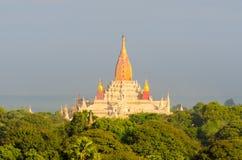 Alte Ananda-Pagode in Bagan Lizenzfreie Stockfotos