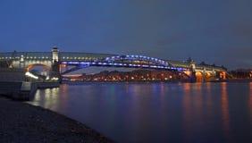 Alte Andreevsky Brücke Stockbild