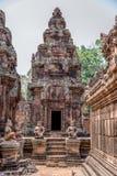 Alte Angkor-Ruinen bei Kambodscha, Asien. Kultur, Tradition und Religion. stockfotografie