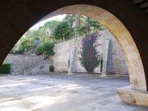 Alte Ansicht, Girona Stockbild