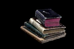 Alte antike Bücher Lizenzfreie Stockbilder