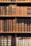 Alte antike Bücher Stockfoto