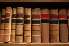 Alte antike Bücher Lizenzfreies Stockfoto