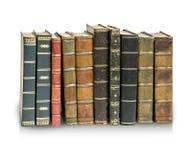 Alte antike Bücher Stockbild