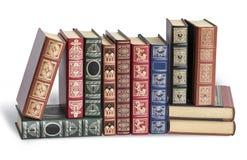 Alte antike Bücher Lizenzfreie Stockfotos