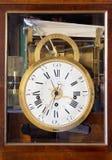 Alte antike Borduhr Stockfotografie