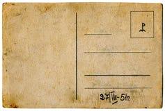 Alte antike deutsche Postkarte Lizenzfreie Stockfotos