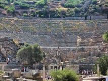 Alte antike Stadt Ephese Stockbilder