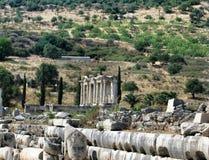 Alte antike Stadt Ephese Stockfotografie