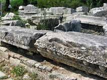 Alte antike Stadt Ephese Lizenzfreie Stockbilder