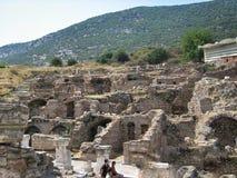 Alte antike Stadt Ephese Stockfoto