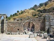 Alte antike Stadt Ephese Lizenzfreies Stockfoto