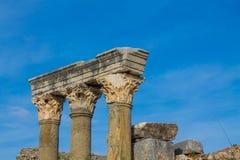 Alte antike Stadt von Efes, Ephesus-Ruine in der Türkei Lizenzfreies Stockfoto