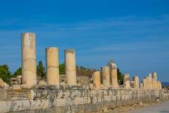 Alte antike Stadt von Efes, Ephesus-Ruine in der Türkei Stockfotos