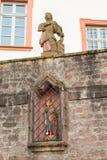 Alte antike Zahl an der Kirche #4 Lizenzfreie Stockbilder